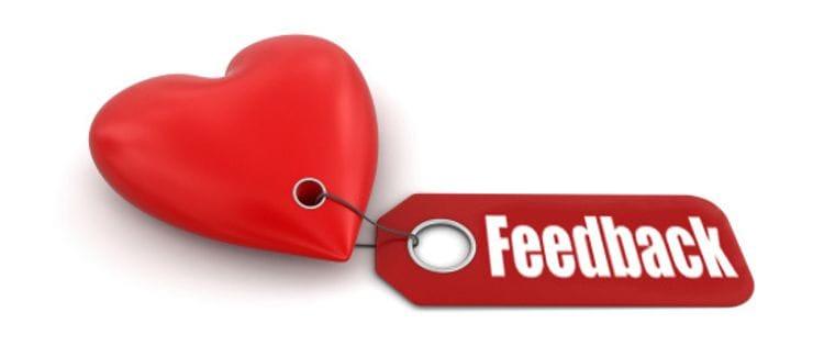 Learning to love customer feedback