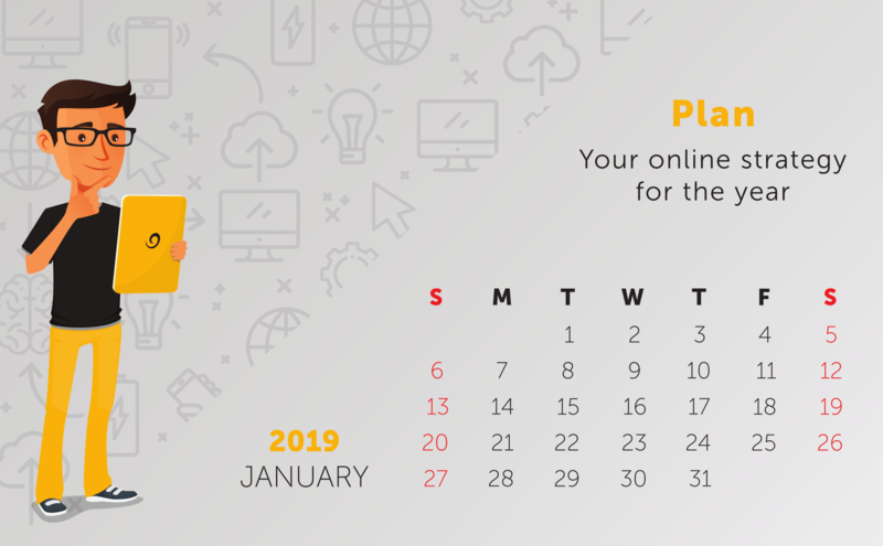 Tip: Plan your online strategy for the year