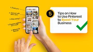 5 Tips on How to Use Pinterest to Boost Your Business