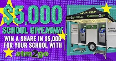 2020 ATM2GO $5K School Giveaway