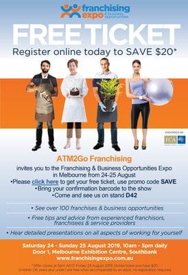Free tickets to Melbourne Franchising Expo