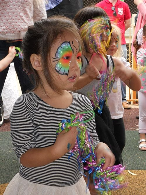 West Stirling Neighbourhood House face painting
