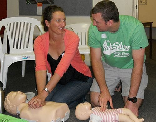 West Stirling Neighbourhood House first aid course