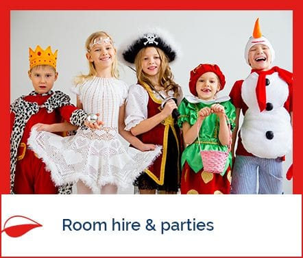 Room hire & parties