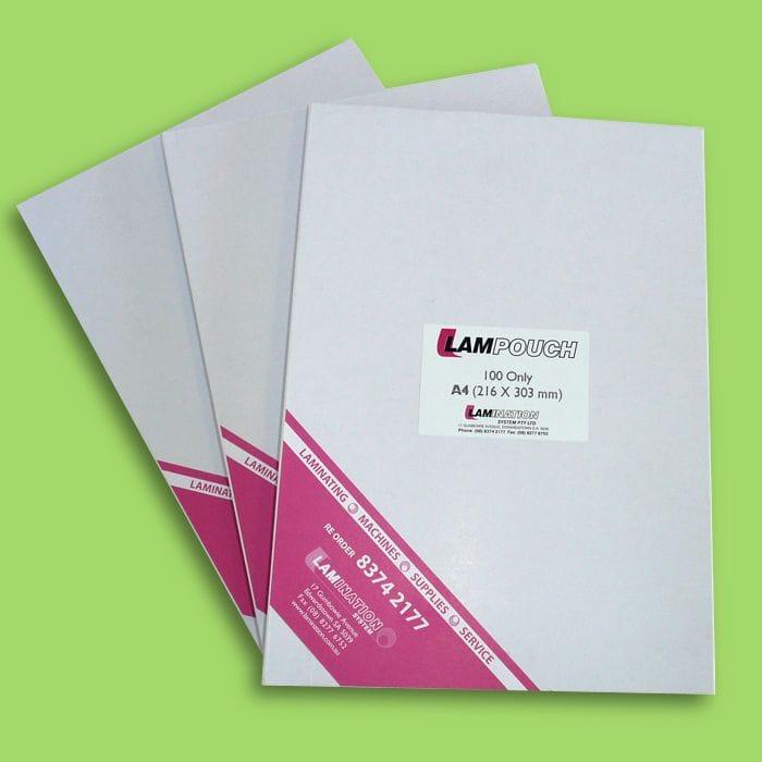 A4 100 Micron Matt/Gloss