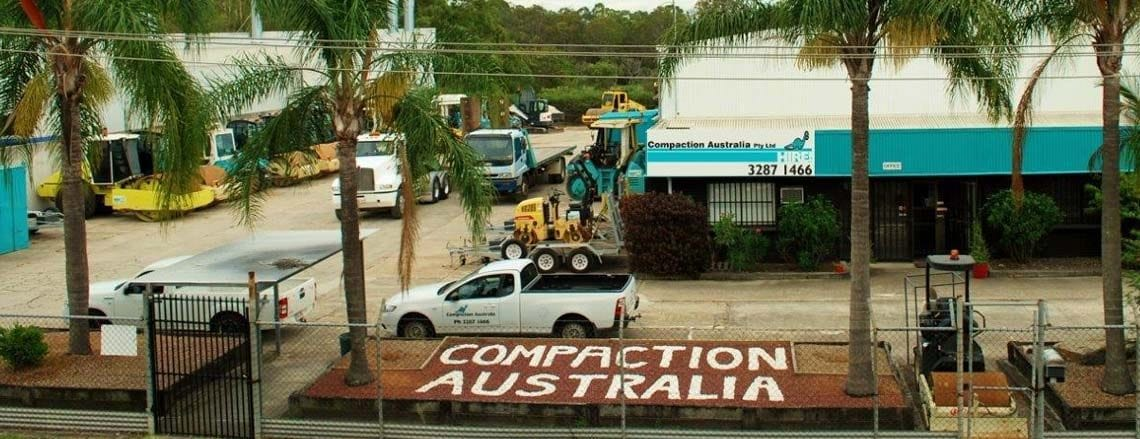 Compaction Austalia Hire - Beenleigh Brisbane Gold Coast