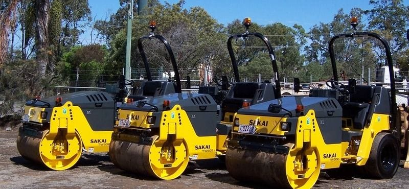 3 - 4t Combination Smooth Vibrating and Multi Tyre