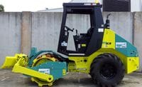 3 - 4t Padfoot Single Drum Vibrating with Tilt Blade