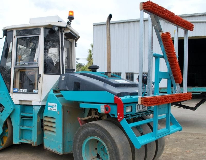 8t Combination Smooth Vibrating and Multi Tyre