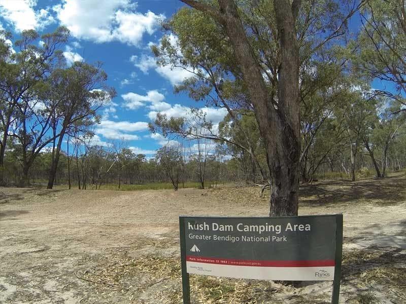 Rush Dam Camping Area Greater Bendigo NP