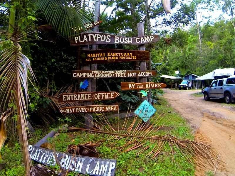 Platypus Bush Camp, Finch Hatton Gorge