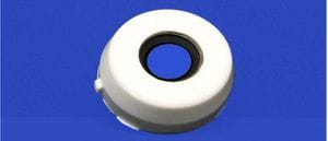 Open cap for 30mm 2 bolt flange unit
