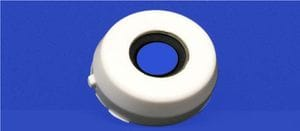Open cap for 25mm 2 bolt flange unit