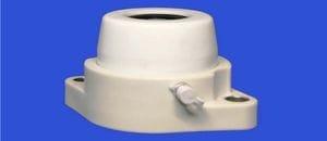 40 mm 2 bolt flange unit - open