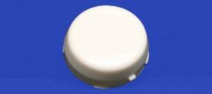 Closed cap for 25mm 2 bolt flange unit