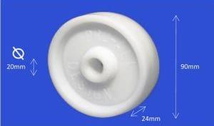 Nylon Roller 24mm