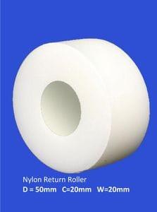 Nylon Return Roller 20mm
