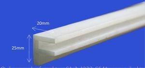 Nylon F Section Profile