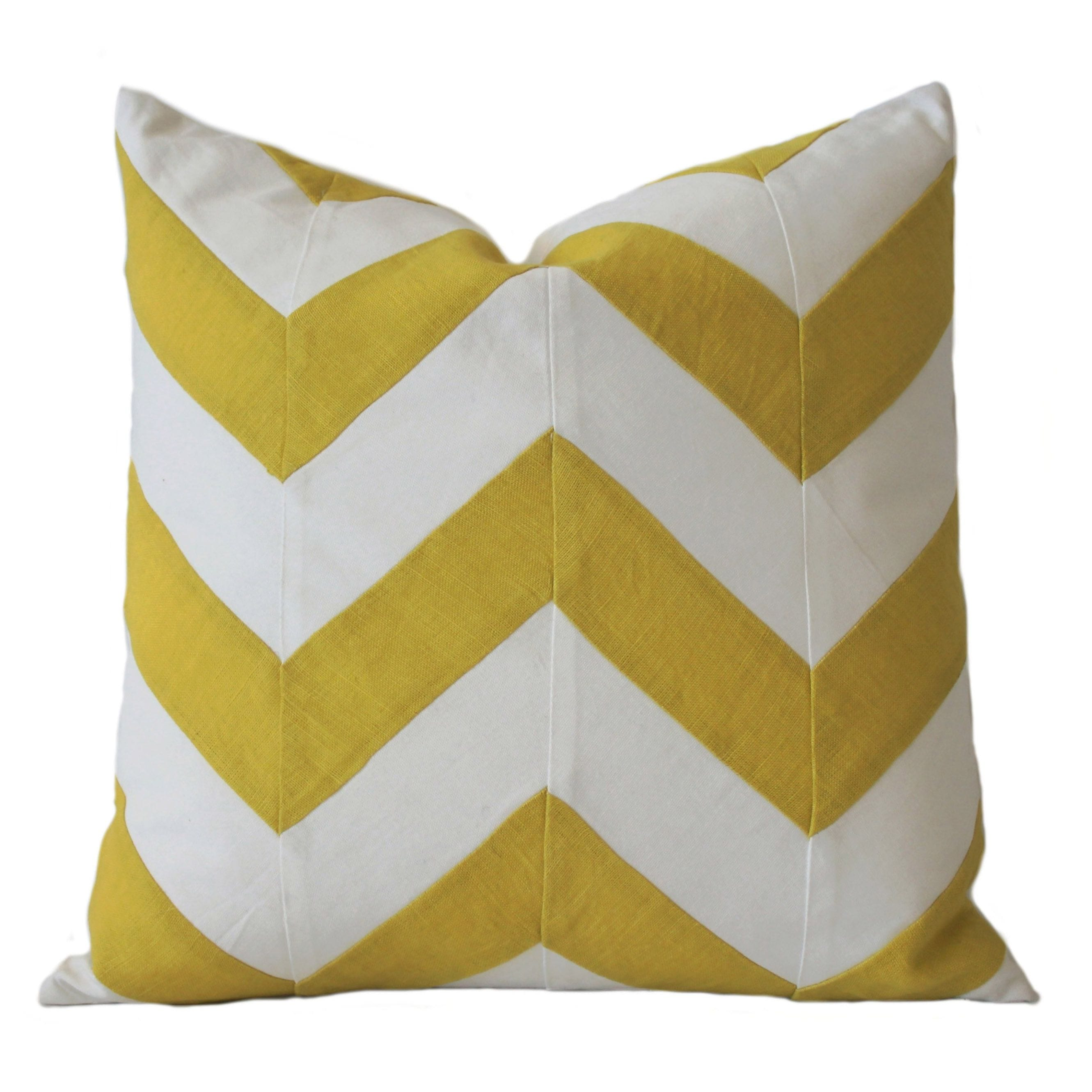 CHEVRON YELLOW 470x470