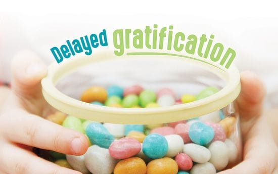 Delayed gratification: are you too soft on yourself?