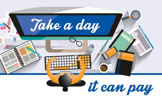 Take a day: It can pay