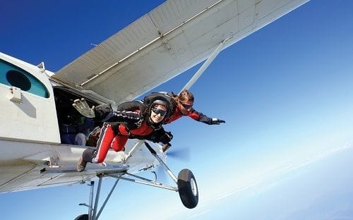 Insurance for the adrenaline junkie