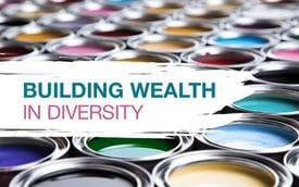 Building wealth in diversity