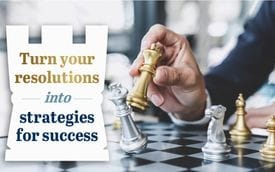 Turn your resolutions into strategies for success