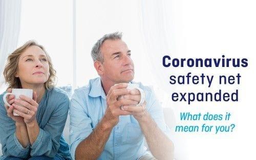 Coronavirus safety net expanded