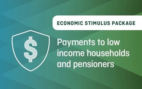 Payments to low income households and pensioners