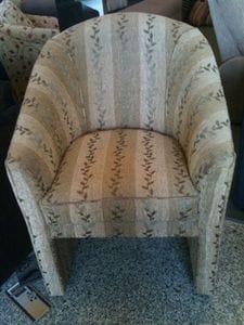 High Back Tub Chair