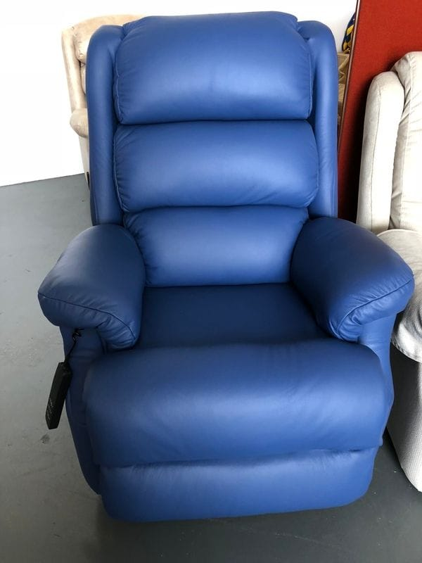 Lift Recliner with Chaise Front