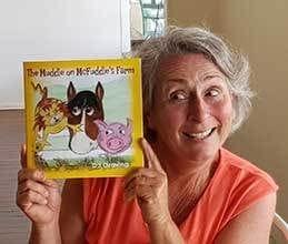 Deb Graving author of Muddle on McFuddle's Farm