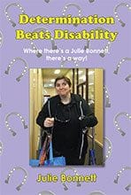 Determination beats Disability by Jullie Bonnett