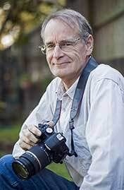 Author and photographer Mark Hallinan