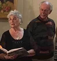 Author Nanna Von and illustrator John Hughson