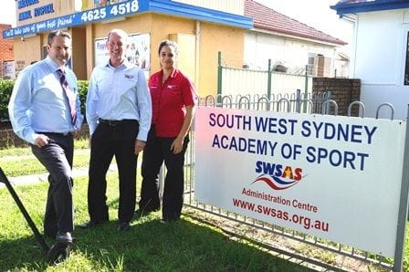 Member for Campbelltown visits Academy