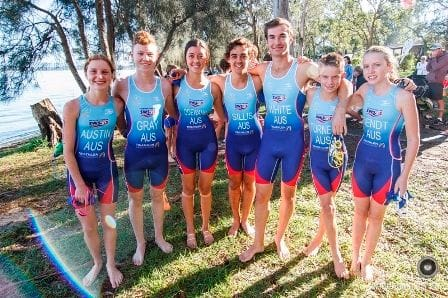 SWSAS Triathletes are ahead of the pack