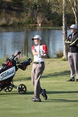 Academy Golf athletes development demonstrated