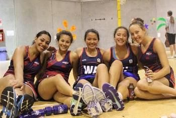 SWSAS Netballers Tour NZ
