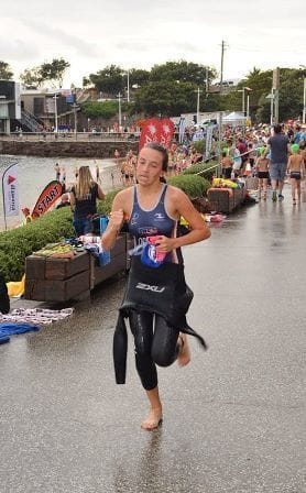Academy Triathletes train with Worlds Best