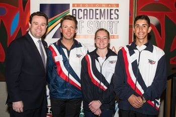 Academy efforts Applauded by NSW Sports Minister
