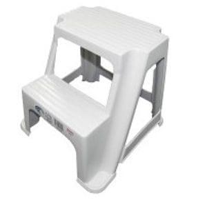 2 step plastic stool