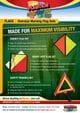 Thumbnail Budget Oversize Warning Flag Set