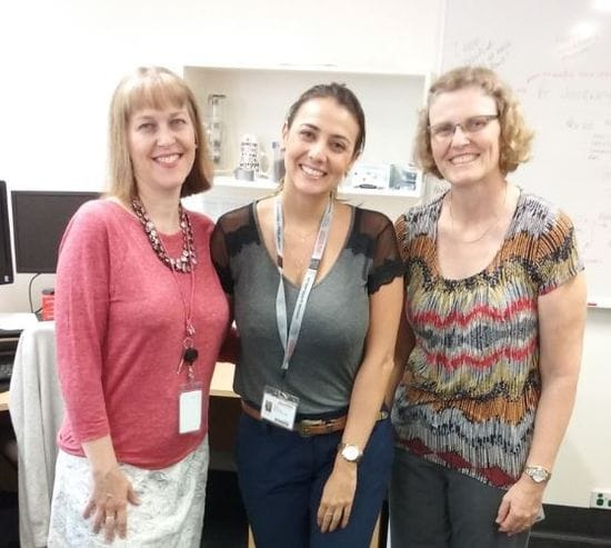 Welcome to Brisbane, Maria Paula, Nurse Researcher from Brazil!