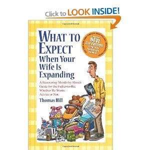What to Expect When Your Wife is Expanding, recommended reading from Dr David Gartlan, Obstetrician & Gynaecologist Hobart