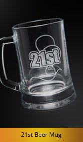 Glassware etching, Etching glass, Logos etched in glass, Beer mug etching, 21st