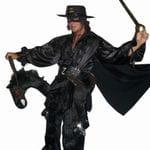 Zorro on horse