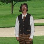 Golfer Oldtime