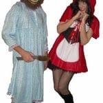 Little Red Riding Hood & Grandma Wolf